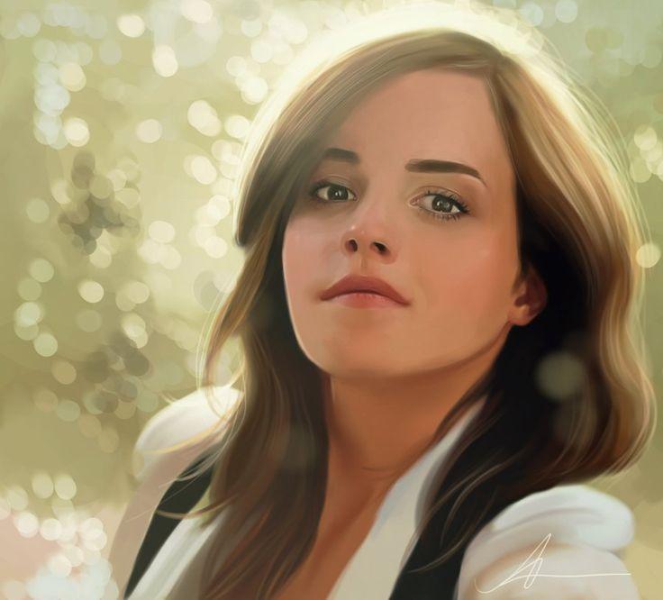 17 Best images about Digital Art Portrait Paintings ...