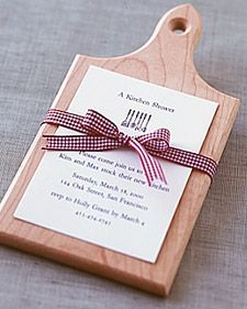 For the bride-to-be who loves to cook, here are ideas to help you throw a kitchen- or cooking-themed bridal shower.
