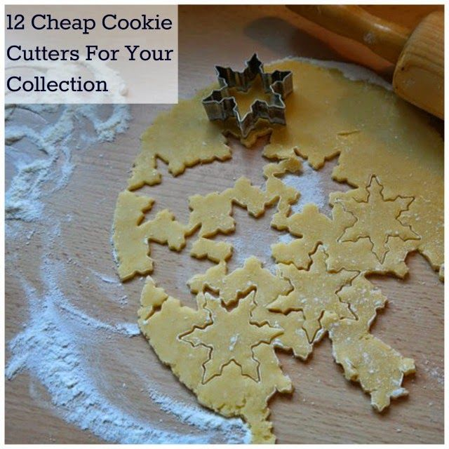 12 Cheap Cookie Cutters | Becky Cooks Lightly #cheap