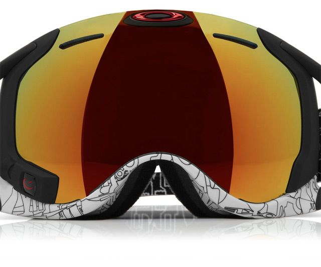GPS & HUD Snow Goggles | DudeIWantThat.com