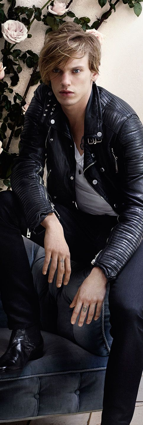 British actor Jamie Campbell Bower in the new Burberry Brit S/S14 campaign, inspired by the Brit Rhythm fragrance