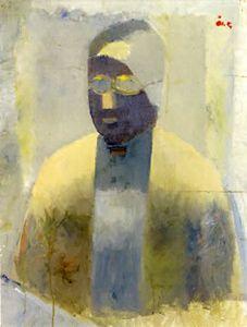Åke Göransson, Porträtt av konstnärens moder, 1930-32
