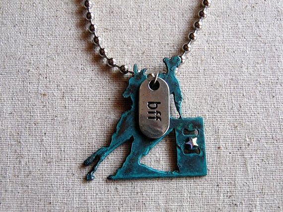 If barrel racing is your passion and your barrel horse is your bff, here is the perfect necklace! Check out this and other rodeo and western jewelry by Whippoorwill Valley. https://www.etsy.com/listing/291644445/barrel-racing-necklace-barrel-racing?ref=shop_home_active_1