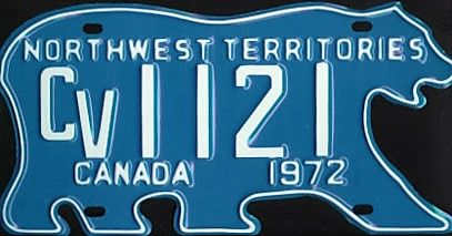 nunavut used license plates for sale