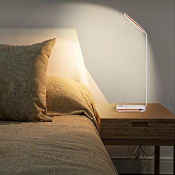 <b>Brilex</b> LED <b>Desk Lamp</b> with USB Charging Port & Wireless Charging ...