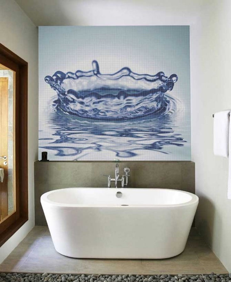 awesome picture for a bathroom.