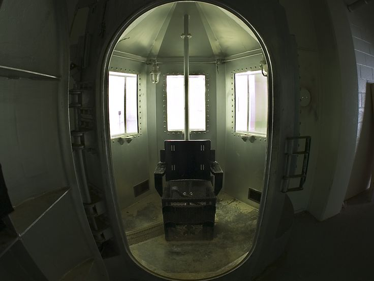 The Gas Chamber at New Mexico Penitentiary, Santa Fe.