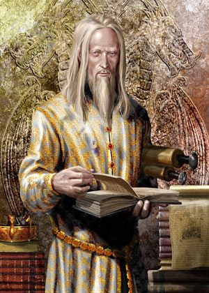 AERYS I.jpgAerys Targaryen was the second son of Daeron II Targaryen and Mariah Martell.[6] He was very much interested in books about ancient prophecy and higher mysteries.[7]