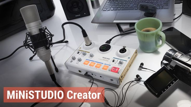 Tascam Ministudio Creator US-42: Audio Interface für Podcast, Streaming & Co. - http://www.delamar.de/musik-equipment/tascam-ministudio-creator-us-42-34879/?utm_source=Pinterest&utm_medium=post-id%2B34879&utm_campaign=autopost