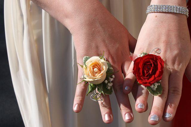 Flower rings for prom