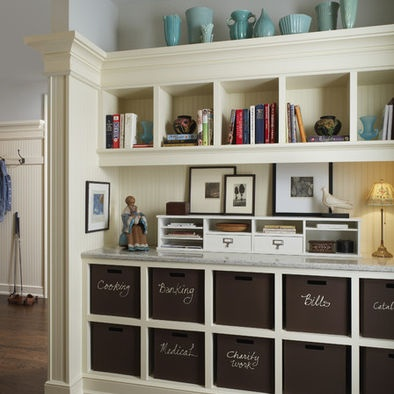 Built in command center-i'd put it in the mudroom, off of the