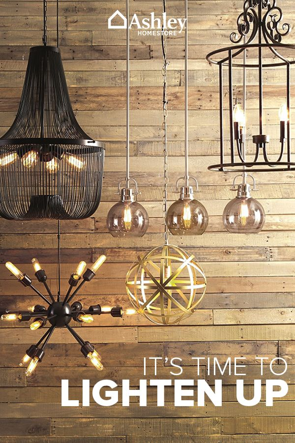Illuminate your home with beautiful and affordable lighting from Ashley HomeStore. Boasting lamps, chandeliers, pendants, floor lamps and more, Ashley HomeStore has lighting for any room in your home. Shop today.