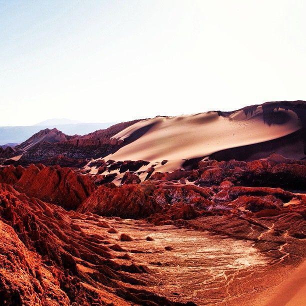 Desierto de Atacama, capital Iquique, I Región de Tarapacá. - Photo by chileimages