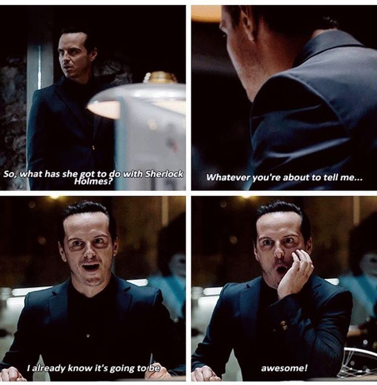 """So, what has she got to do with Sherlock Holmes?"" - Jim Moriarty #Sherlock"