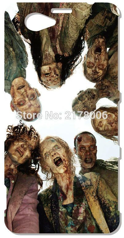 >> Click to Buy << Skeleton Zombie Walking Dead Phone Case For Sony
