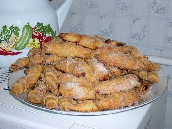 Самые вкусные рецепты: Рассыпчатые творожные рогалики
