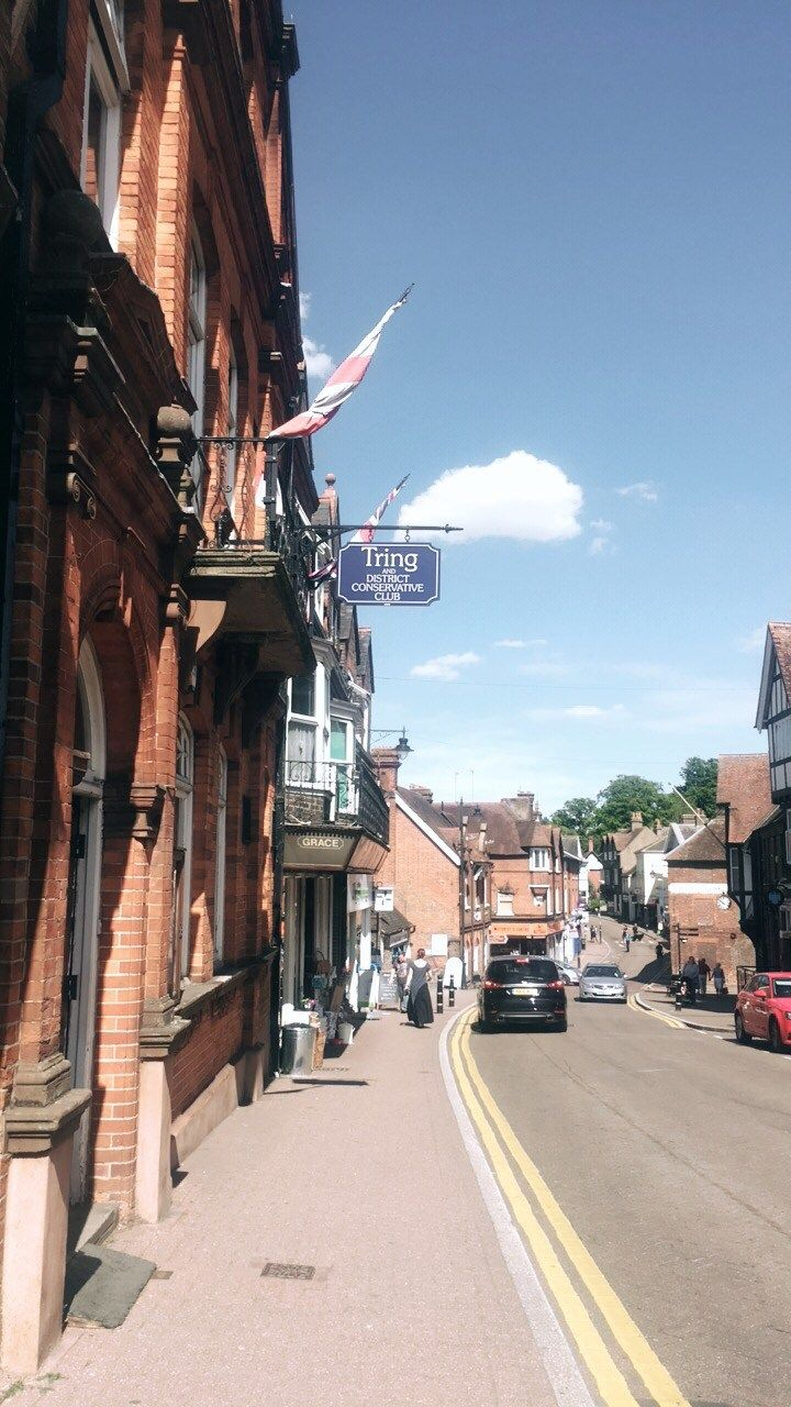 Tring town, high street in Hertfordshire | July Edit: The best bits | Amy Victoria Baldwin