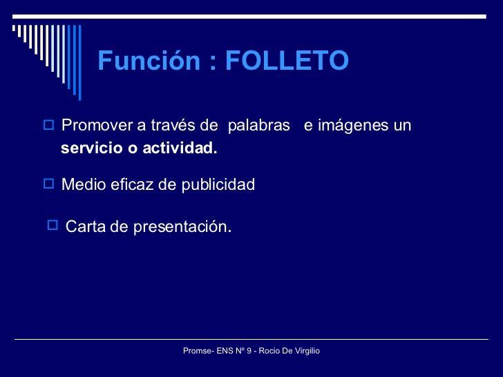 Folleto Diapositivas