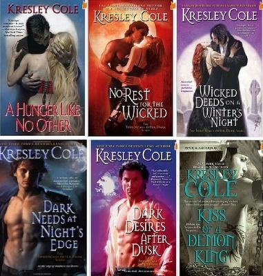 Immortals After Dark Series, Kresley Cole