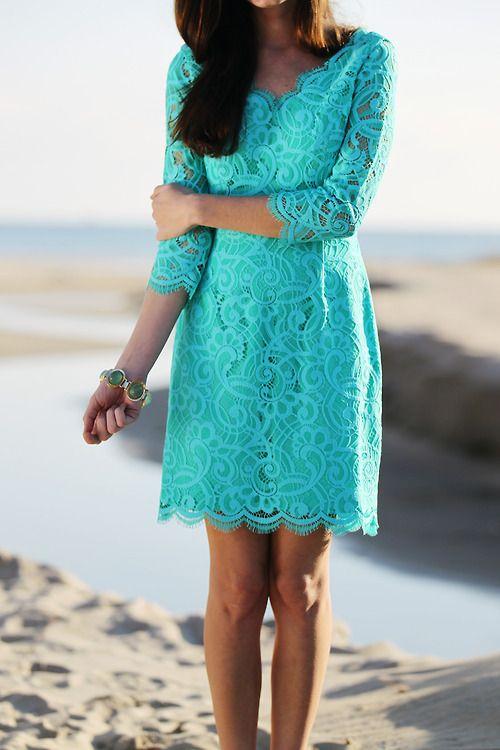 Best 20  Turquoise lace dresses ideas on Pinterest