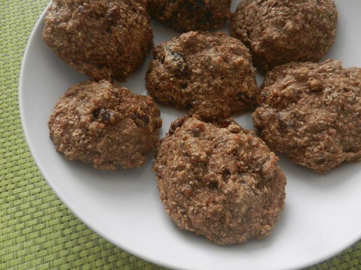 Recette santé de muffin aux dattes et aux pacanes de Madame Labriski. Recette facile à faire.