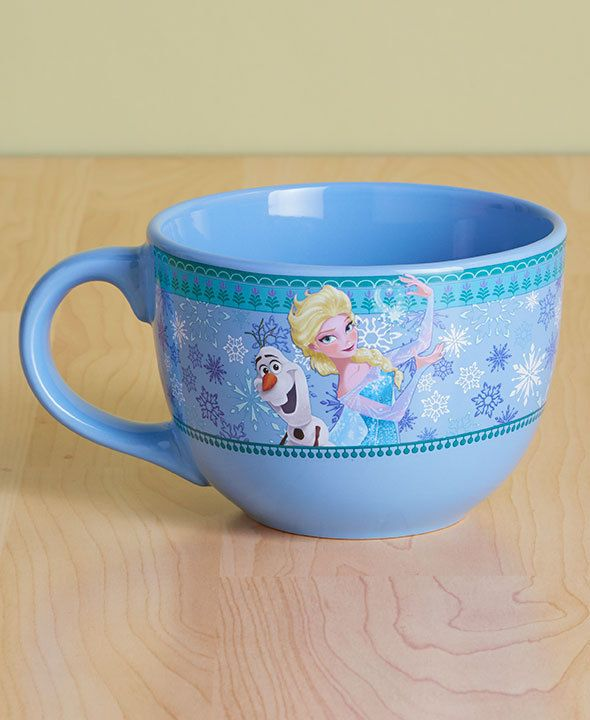 FROZEN Mug 24-Oz. Licensed Soup Mugs Comic Collector Snack Bowl #Unbranded