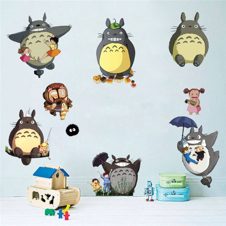 Totoro stickers 💕final sales 🌟totoro stickers 9 95 ✈️free shipping worldwide 2000
