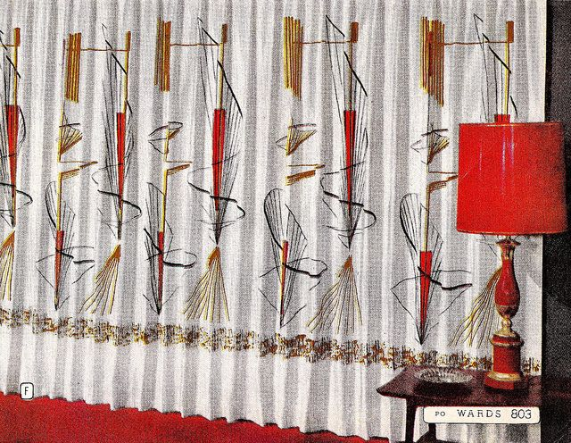 Montgomery Ward Living Room Curtains