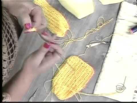 Top biquíni de crochê com Camila Fashion - YouTube