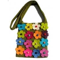 Felt Bag- Flower Design