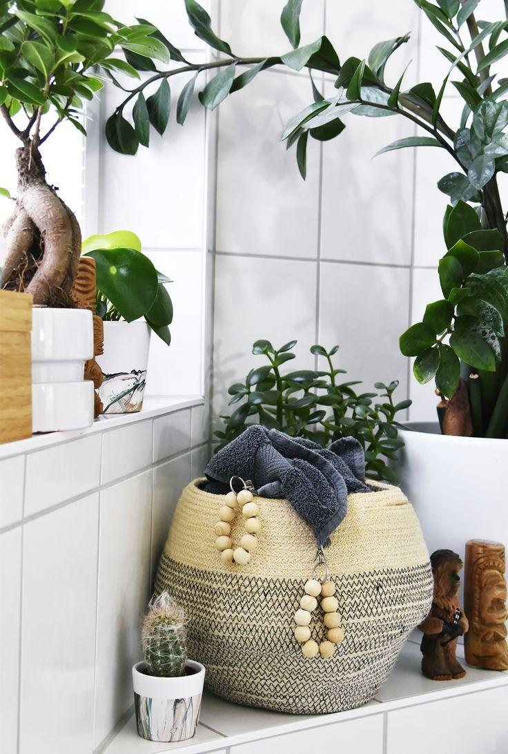 Licht Für Den Urban Jungle   Kleines Badezimmer Makeover Mit Plissee
