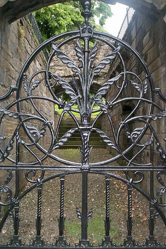 Stirling by Sbriff, via Flickr ~ Scotland         This gate is just simply awesome.
