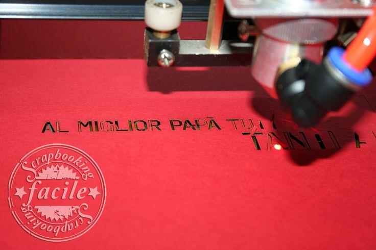 Una card per la festa del papà…ovviamente taglio laser e completamente personalizzabile!