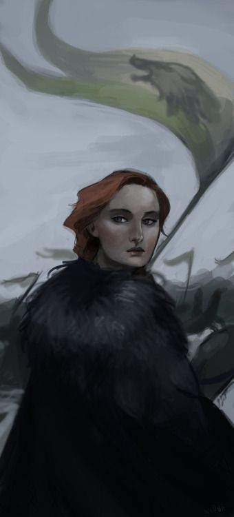 "guywithtime2kill: "" Sansa Stark (Game of Thrones) by Lykas William """
