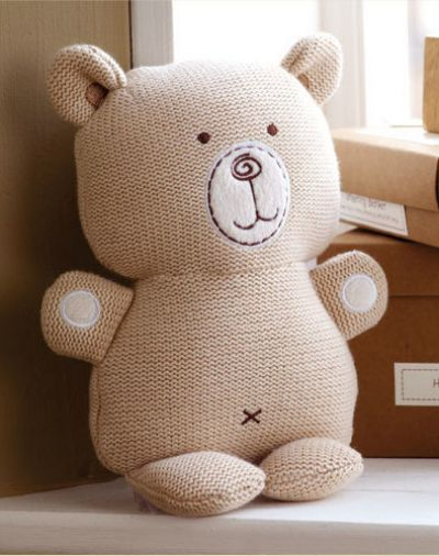POSHme - Hug Me pletený Medvídek