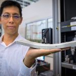 Scientists invented a new type of bendable concrete called ConFlexPave, which is stronger, flexible and longer lasting than regular concrete.Scientists from the NTU-JTC Industrial Infrastructure Innovation Centre (I³C) of Nanyang Technological University (NTU Singapore) have invented a new type of concrete called ConFlexPave. It boasts more benefits than regular concrete. ...