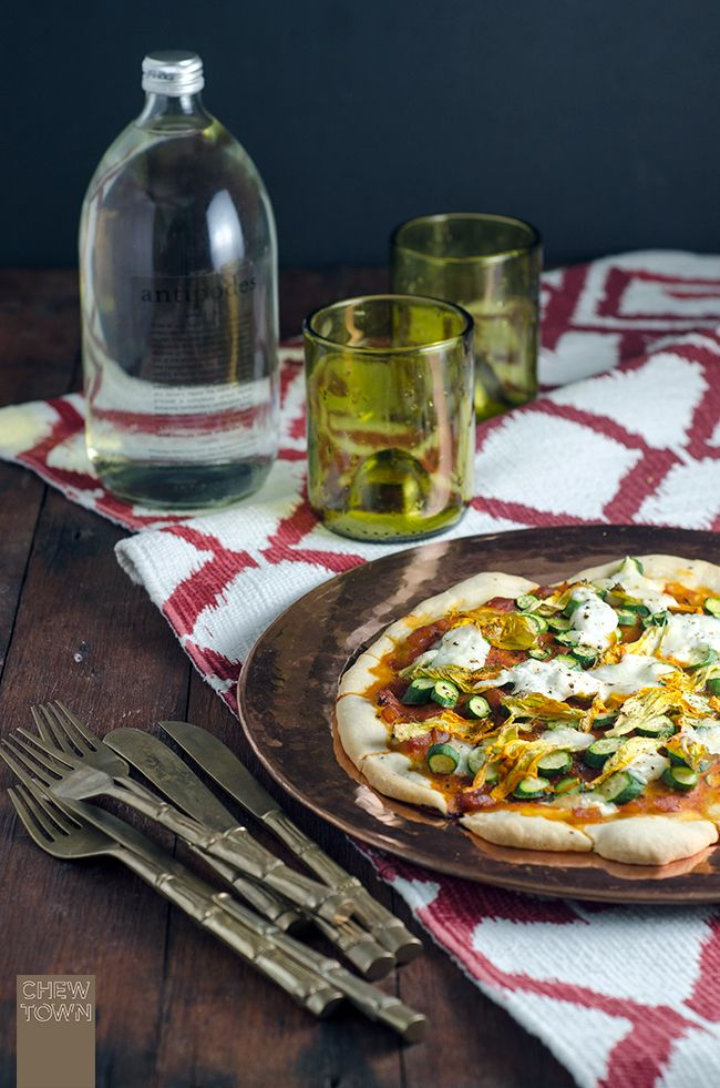 Homemade Pizza Dough Recipe and Favourite Toppings | Chew Town Food Blog