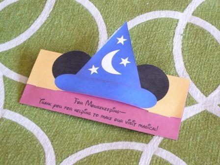 Mousekeeping Tip Envelopes printable