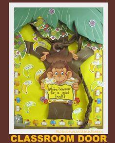 Details about Teacher Resource: Monkey Bulletin Board Bulletin ...