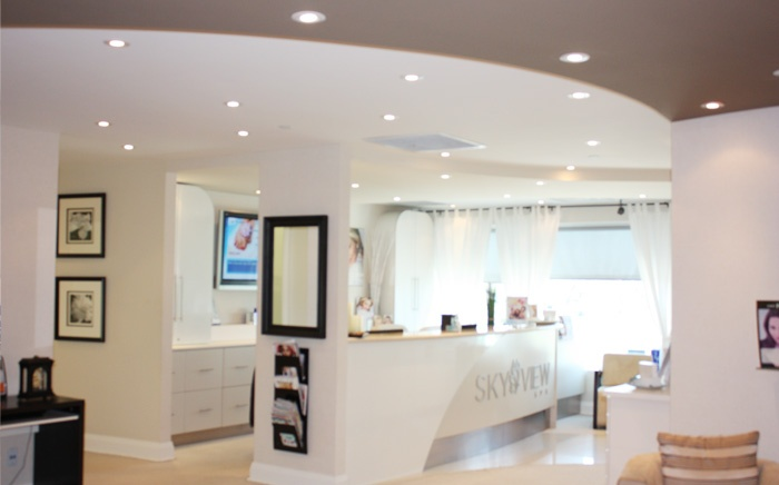 The philosophy of Skyview Spa is to create an atmosphere where you will feel at total ease within. From our warm and gracious front reception to unsurpassed customer service and treatment satisfaction, we grant you the opportunity to seek total balance in mind, body and spirit.