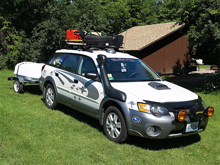 Pare S On Subaru Outback Roof Racks Ping