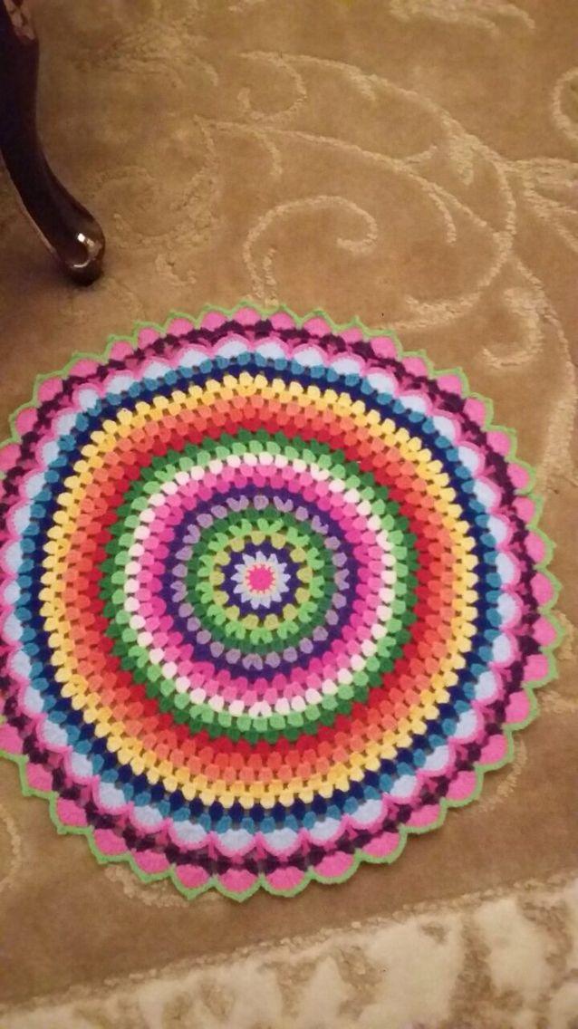 Crochet mandala /teyze işi