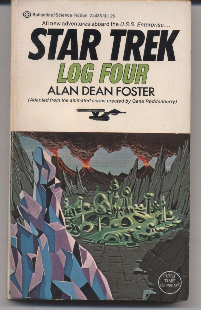 Star Trek Log Four by Alan Dean Foster (1975, Paperback) Science Fiction