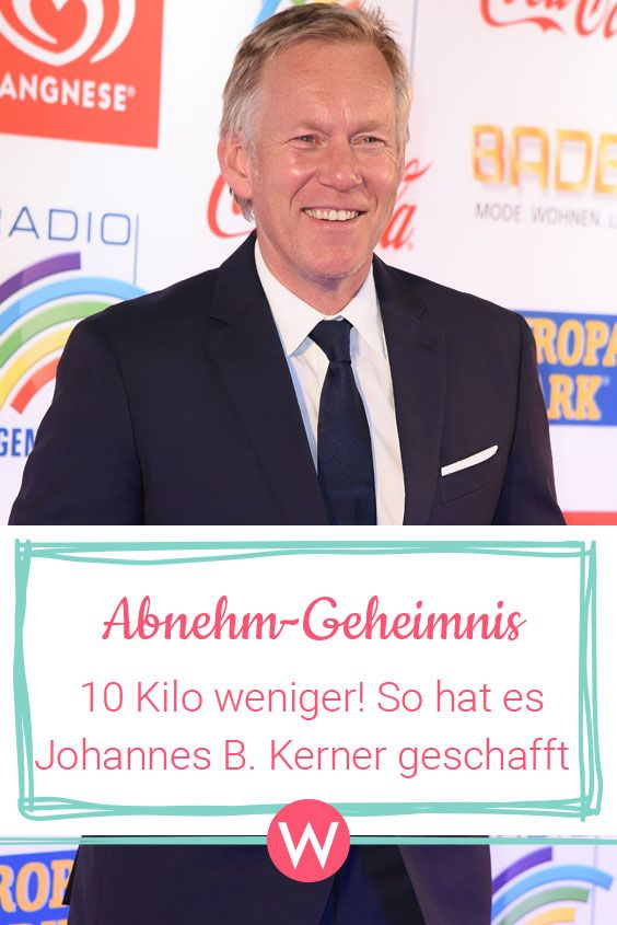 Johannes B. Kerner: Abnehmerfolg - So hat er 10 Kilo..