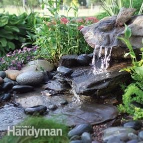 DIY:  How to Build a Low-Maintenance Water Feature.