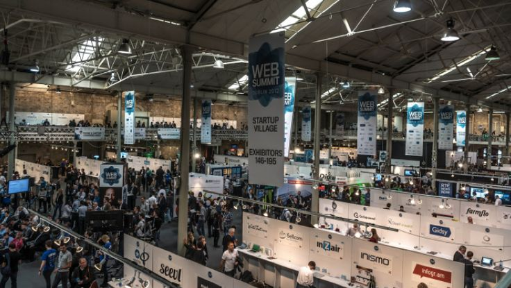 Can you spot us here at the #Dublin #WebSummit 2012? #seevl #startup
