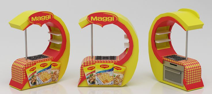 Maggi counter 2015 on Behance