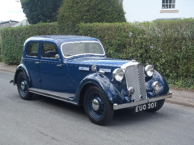 Dad's Rover 16 Sports Saloon (P2, Blue)