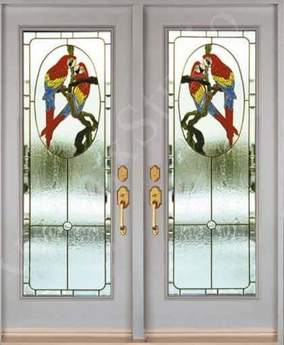 Doors and Windows -- Glass Bird Entry Doors