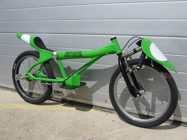 Green Machine Ii Fastest Bike At Dalby Forest Soapbox Derby 2011